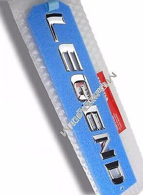 Oem Jdm LEGEND Trunk Emblem 04-08 HONDA ACURA RL Oem HONDA JAPAN PART Genuine