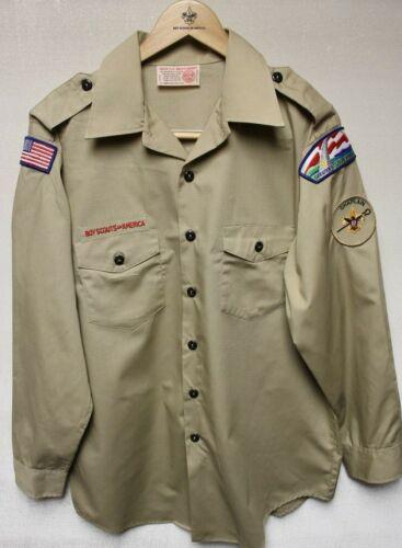 B6 BSA Scout Uniform Shirt, Size Mens Large, Long Sleeve, Great Condition