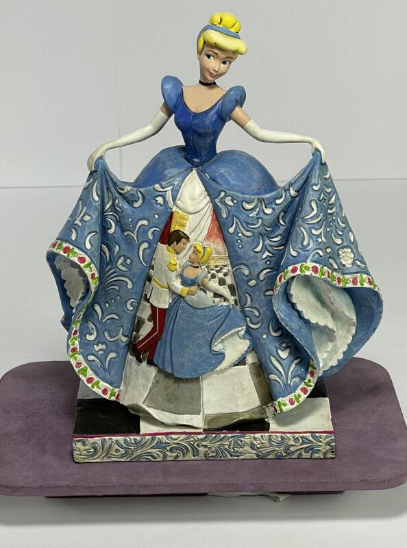 "Jim Shore Walt Disney Showcase Traditions Romantic Waltz Cinderella 9.5"" Figure"