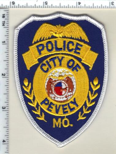 City of Pevely Police (Missouri)  Shoulder Patch  from 1991