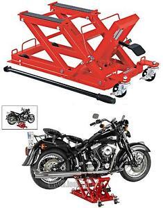 Ponte sollevatore centrale alza moto cric cavalletto for Cavalletto sposta moto