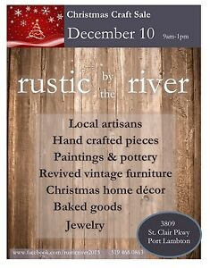 Rustic by the River Sale - Dec 10