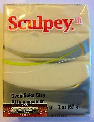 M00397 MOREZMORE Sculpey III TRANSLUCENT 2oz Polymer Oven-Bake Clay A60
