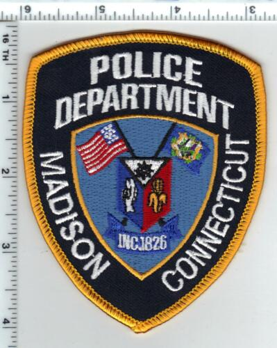 Madison Police (Connecticut) 3rd Issue Cap/Hat Patch