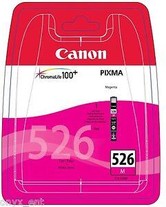 Genuine Canon CLI-526M Magenta Ink Cartridge for Pixma MG6150 MG6250 MG8250