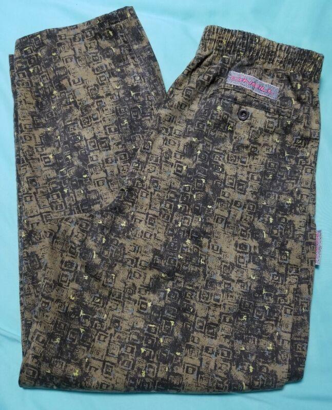 Vtg 80s 90s O'Neill All Over Pattern Pants Men