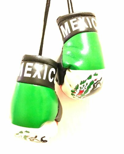 Mexico Boxing gloves Rear view mirror free shipping