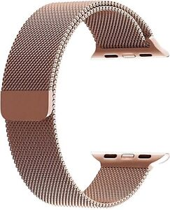 Champagne Gold Milanese Loop Apple Watch Series 1/2/3 42mm