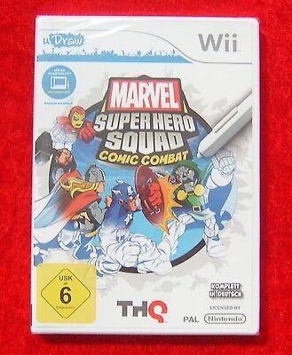 Marvel Super Hero Squad Comic Combat, Nintendo Wii Spiel, Neu, deutsche Version (Super Hero Squad Comic)