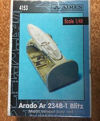 Arado Ar 2324B-1 Main wheel bay 1/48 scale Aires set4153 unopened/NIB