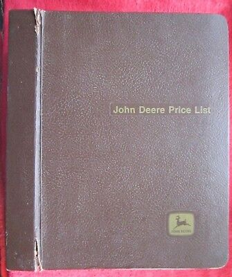2002 John Deere Dealer Tractor Combinehay Forage Equipment Price List Manual