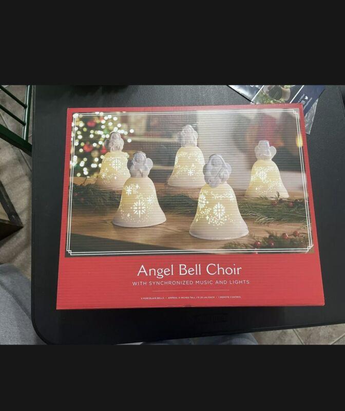 2020 Hallmark Angel Bell Choir Wireless Synchronized Music & Lights NIB