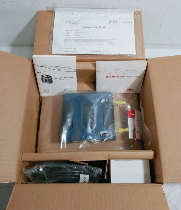 Bios Defender 520-M Drycal 50-5000 mL/min