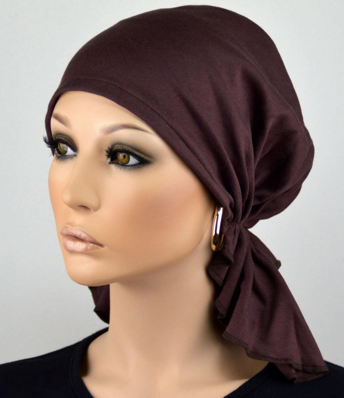 BAND Bandana Kopfbedeckung Chemomütze SET Linda NEU KOPFTUCH MÜTZE CHEMO TUCH