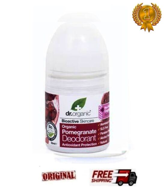 DR. ORGANIC  SPECIAL  BIOACTIVE  DEODORANT ROLL ON  POMEGRANATE  - 50ml