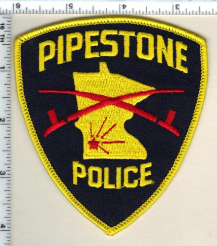 Pipestone Police (Minnesota)  Shoulder Patch  - new from 1991