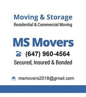 LAST MINUTE MARKHAM SCARBOROUGH MOVERS CALL 647-960-4564