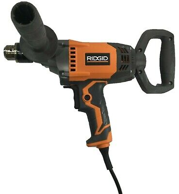 Used Ridgid 12 Spade Handle Corded Drill Mud Mixer Plaster Concrete - R7122