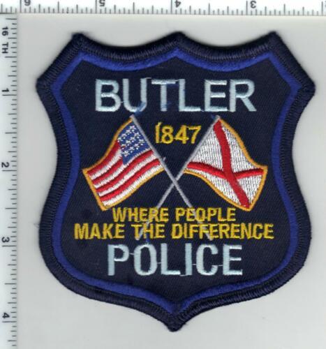 Butler Police (Alabama) 2nd Issue Shoulder Patch