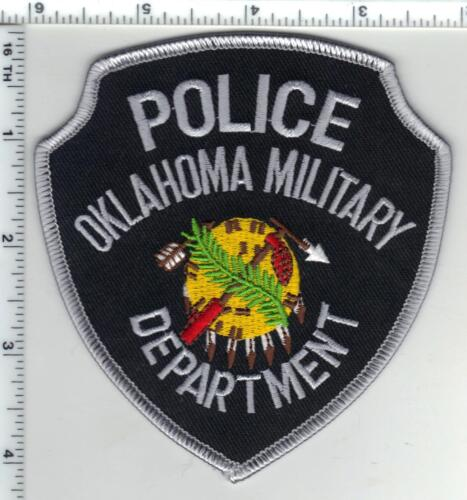 Oklahoma Military Department Police Shoulder Patch from the 1980
