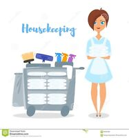 Housekeeper looking for new clients in the parry sound area