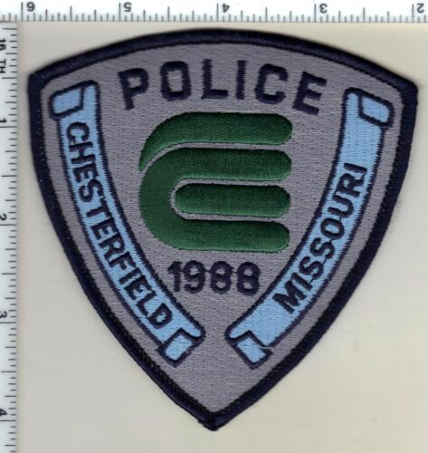 Chesterfield Police (Missouri) Shoulder Patch from 1993