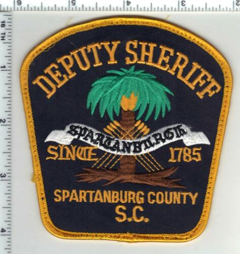 Spartanburg County Sheriff (South Carolina) 2nd Issue Uniform Take-Off Patch
