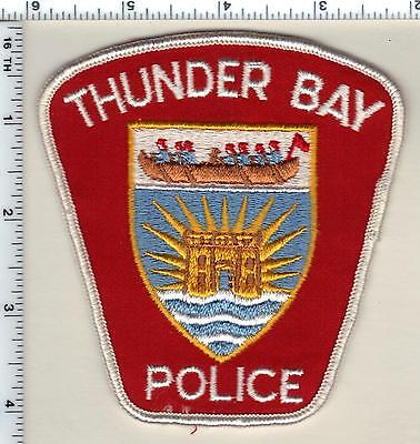 Thunder Bay Police  Canada  Shoulder Patch From 1990