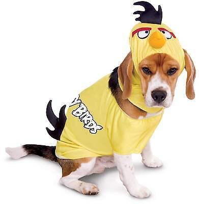 MEDIUM Brand New Dog Angry Birds Yellow Bird Dog Costume - Angry Bird Dog Costume