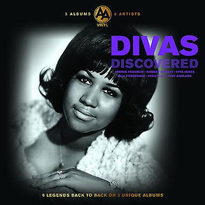 Divas Music Collection 2016 Vinyl Records 3 LP Album 6 Artists Aretha Etta New