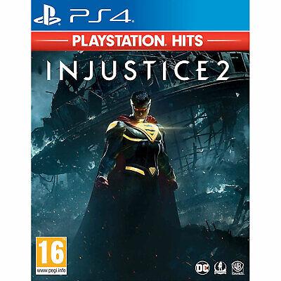 Injustice 2 PS4 PLAYSTATION New & Sealed inc Batman,Superman,Flash,Wonder Woman