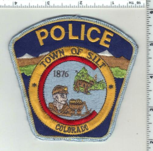 Town of SIlt Police (Colorado) 2nd Issue Uniform Take-Off Shoulder Patch
