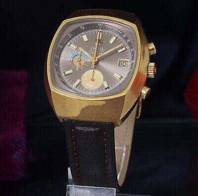 Omega Seamaster Jedi Gold Plated Automatic Chronograph 176005 Omega 1040 cal Cir