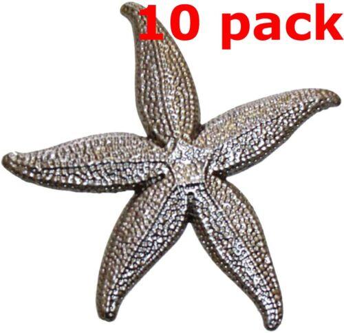 "Metal Stampings Starfish Ocean Sea Stars Creatures STEEL .020"" Thickness SE12"