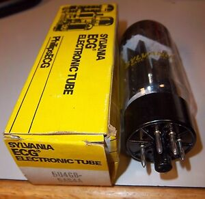 SYLVANIA-ECG-Electronic-Tube-Type-5U4-GB-Unused-NOS