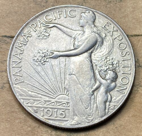 1915-S Panama-Pacific Commemorative Half Dollar XF/AU - $249.95