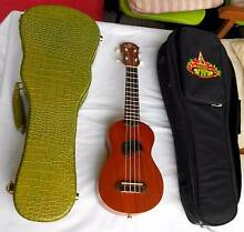 Koyama Soprano Ukelele + hard case + soft case Mitcham Whitehorse Area Preview
