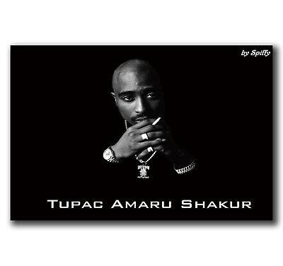 E2236 Art Tupac Shakur 2Pac Hip Hop Music Star Poster Hot Gift  24X36 40Inch