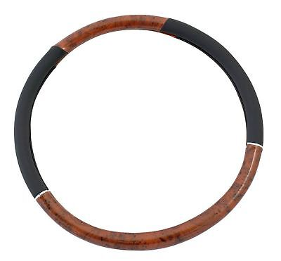 Brookstone Steering Wheel Cover 45cm Black Maple Van Truck Lorry Tractor Cab