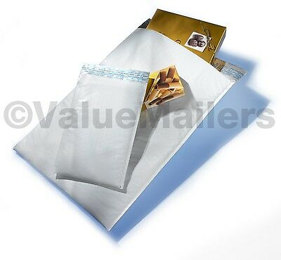 100 5 Xpak Poly Bubble Mailers Envelopes Bags 10.5x16 100 10x13 Clear Bags