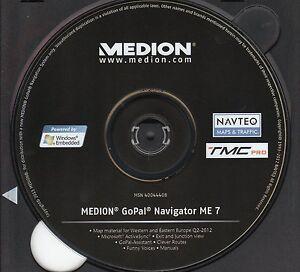 GoPal Navigator ME  7  TMC  PRO Version   West- + Ost- Europa DVD  + Exit Views