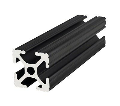 8020 Inc 10 Series 1 X 1 Aluminum Extrusion Part 1010-black X 18 Long N