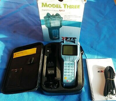 Trilithic Xftp Model Three Signal Level Meter In Box
