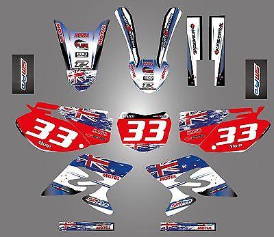 Full  Custom Graphic Kit -AUSSIE PRIDE - Yamaha TTR 230 -  2005 - 2015 stickers