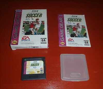 FIFA International Soccer (Sega Game Gear, 1994) -Complete