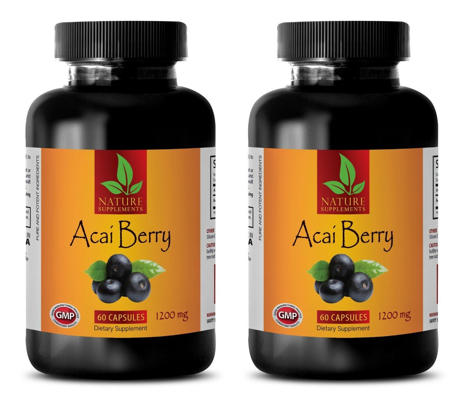 anti aging daily - ACAI BERRY 1200 - natural anti inflammatory supplements 2BOTT