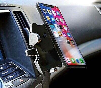 Car Dashboard Air Vent Mount Cell Phone Holder Cradle for Apple iPhone X XS XR ()
