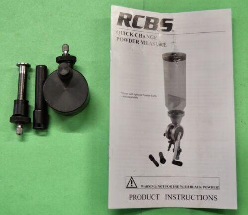 RCBS Uniflow Quick Change Cylinder-(Lg & Sm)-w drain attachment-Factory NEW