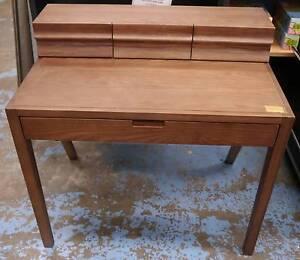 New Scandi Ash Timber Student Desk Wood Home Office Melbourne CBD Melbourne City Preview