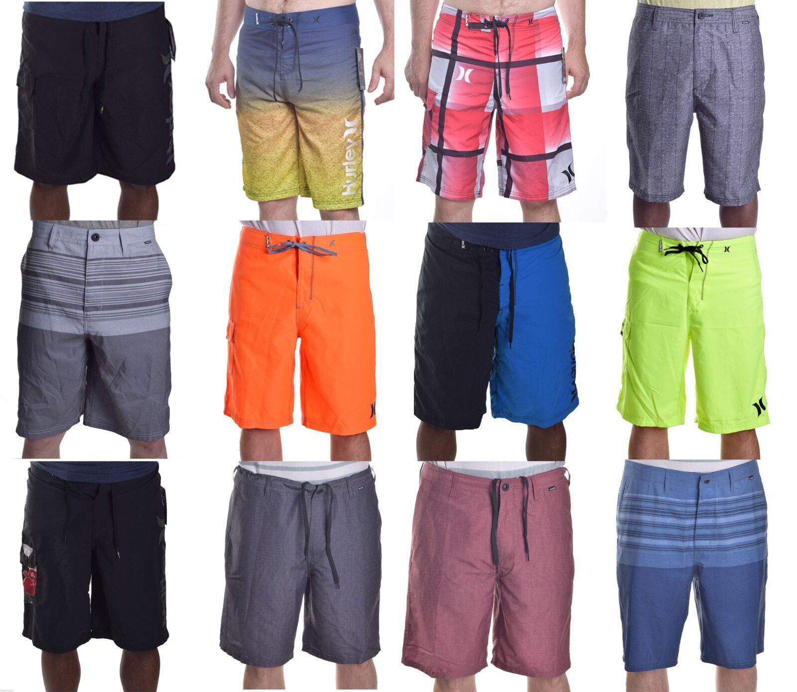 Hurley Men's Polyester Swim Board Shorts Choose Color & Size
